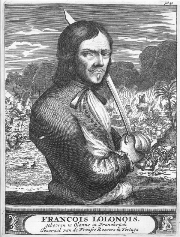 François L'Olonnais Famous Pirates
