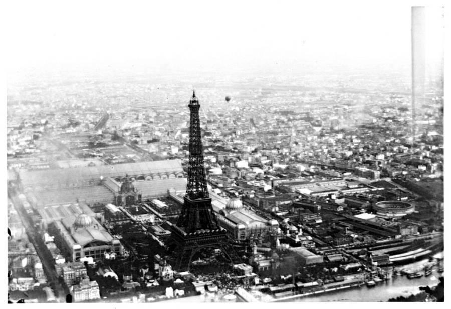 Aerial Photo Of Paris