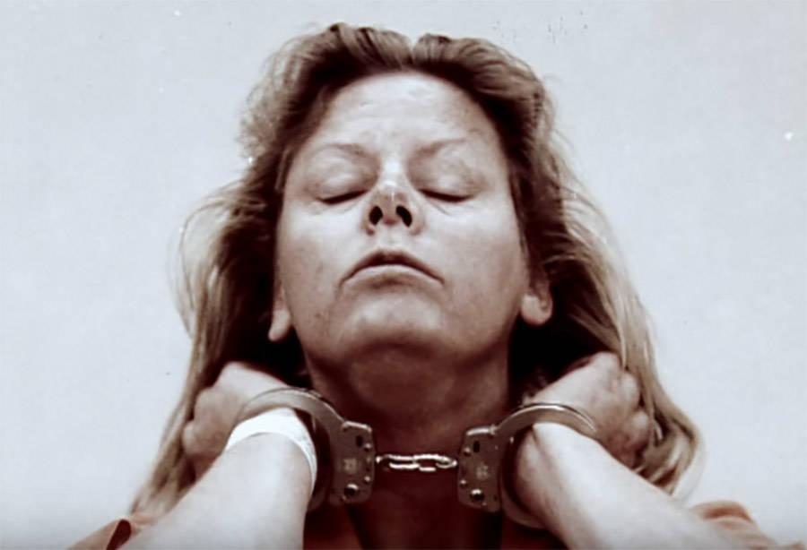 Aileen Wuornos In Handcuffs