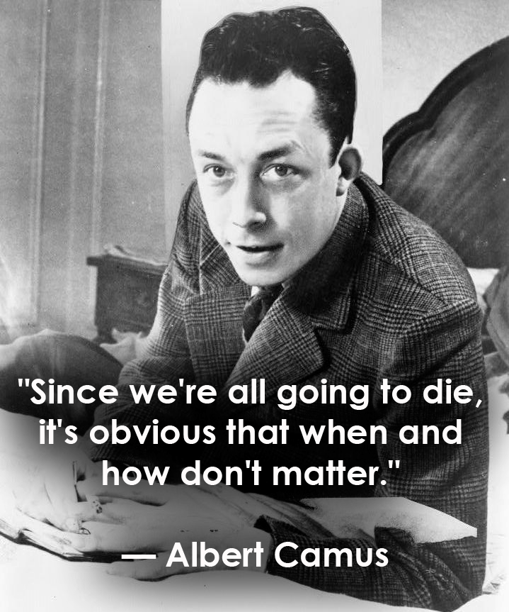 Death Quotes Albert Camus