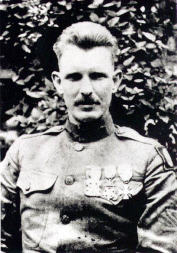 Alvin York In Uniform