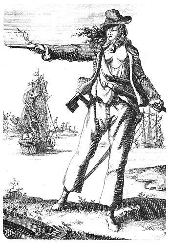 Anne Bonny Famous Pirates