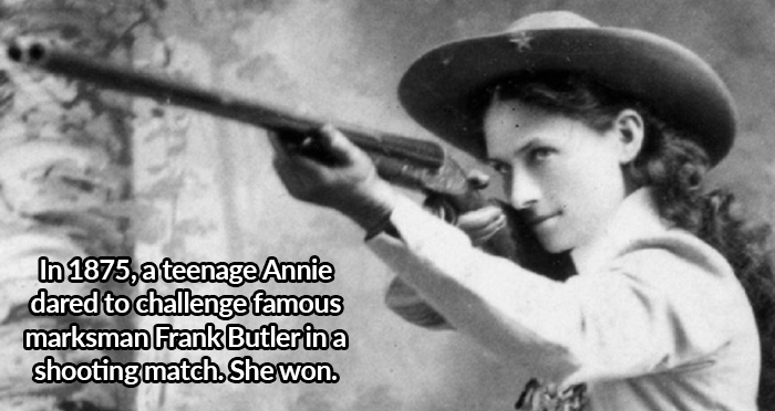 515bf0fed6c 27 Annie Oakley Facts About The Wild West s Biggest Badass