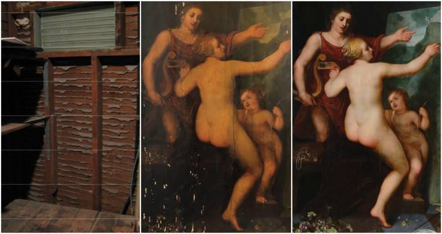Apollo Venus Painting
