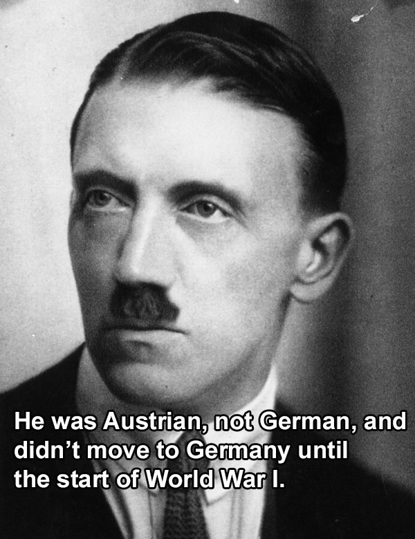 Adolf Hitler Facts Austrian