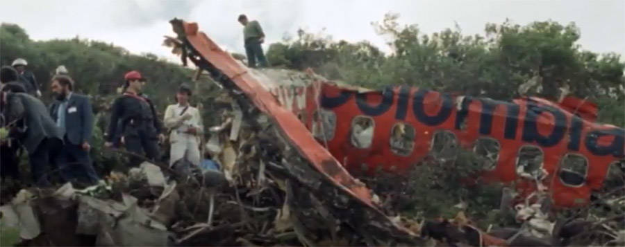 Avianca 203 Plane Crash