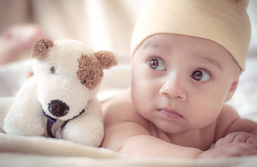 Baby And Toy