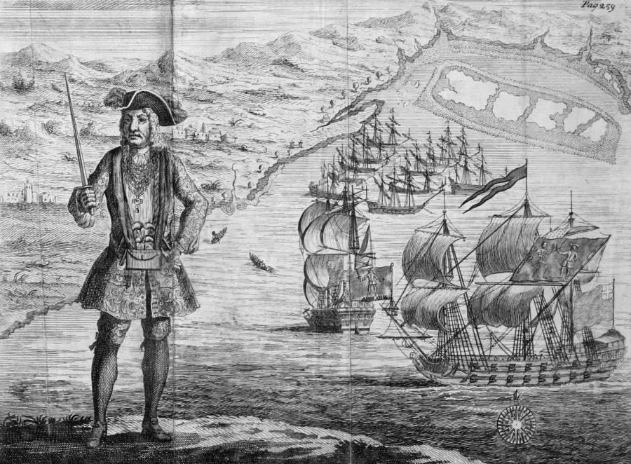 Bartholomew Roberts Famous Pirates