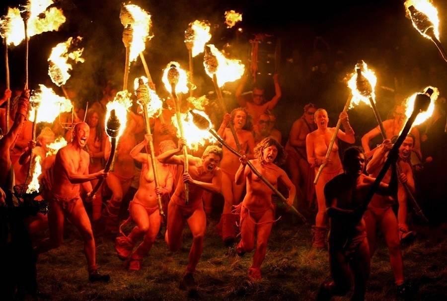 Weird Holidays Beltane Fire Festival