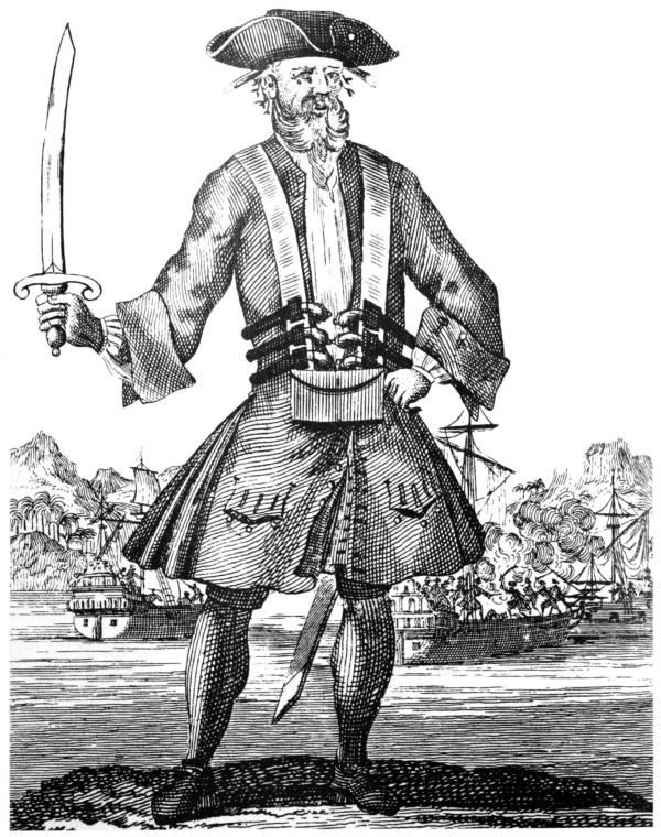Blackbeard Famous Pirates