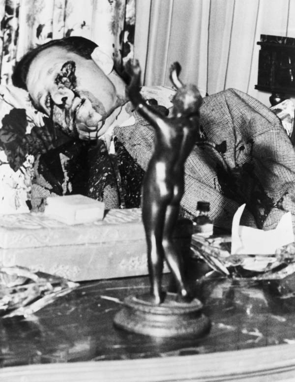 Bugsy Siegel Gunshot