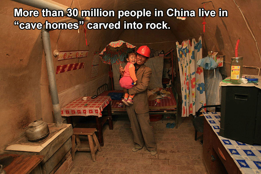 Cave Homes In China