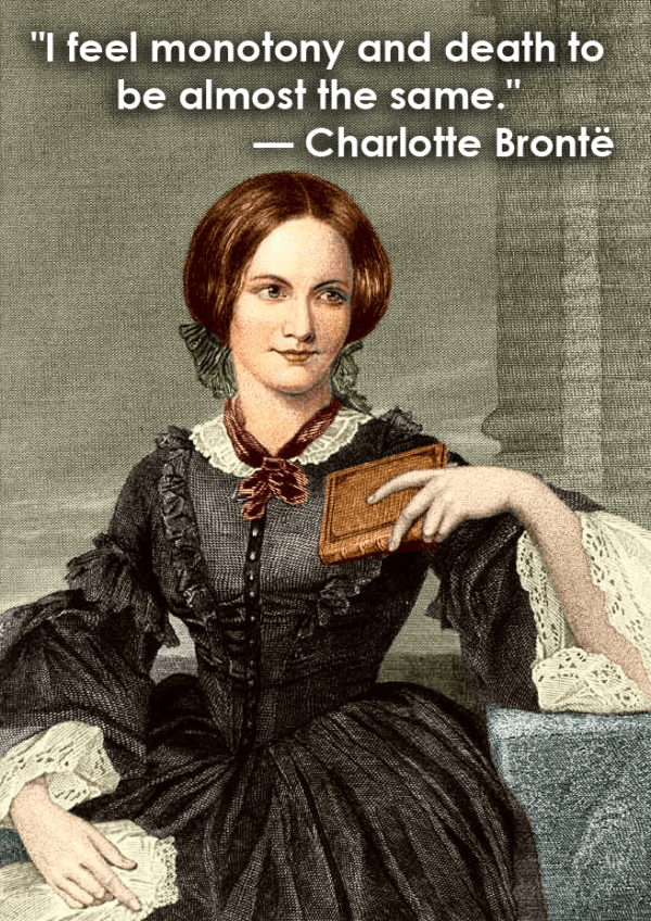 Death Quotes Charlotte Bronte