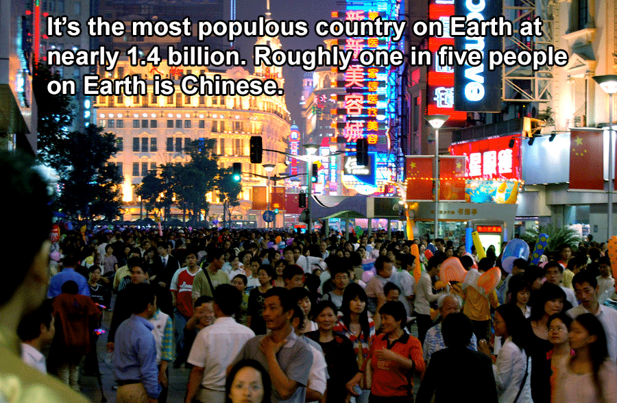 China Facts Population