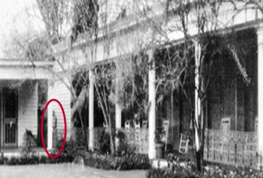 Ghost Of Chloe At Myrtles Plantation