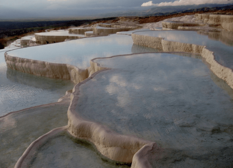 Clouds In Pamukkale
