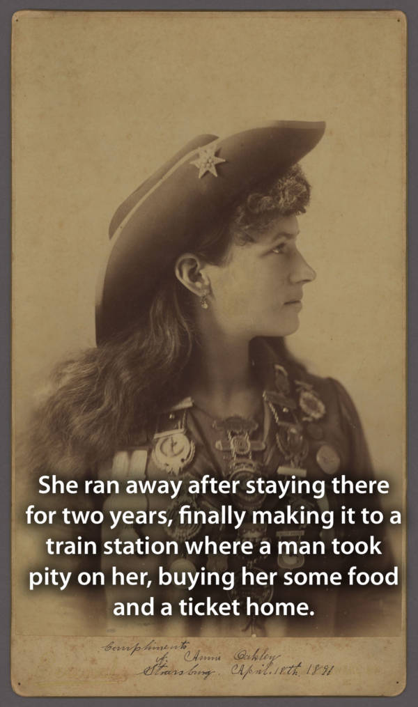 Annie Oakley Facts Childhood