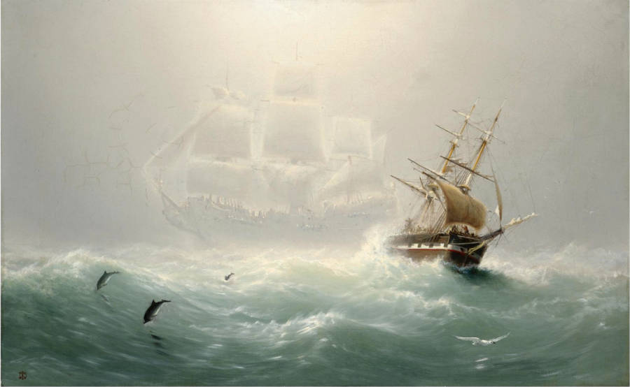Flying Dutchman Painting