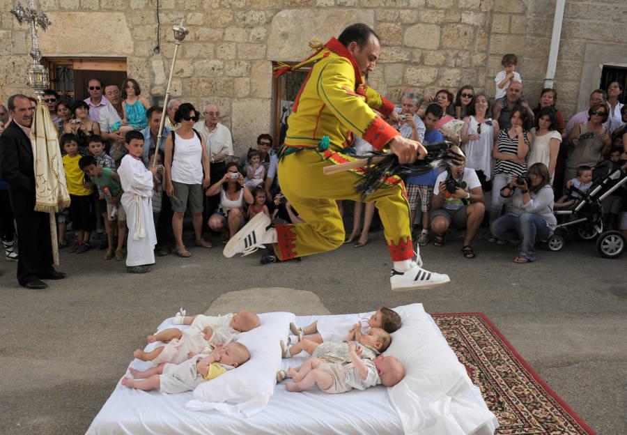Bizarre Festivals El Colacho
