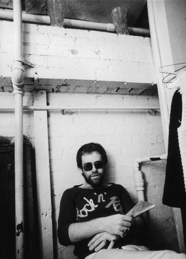 Elton John Backstage