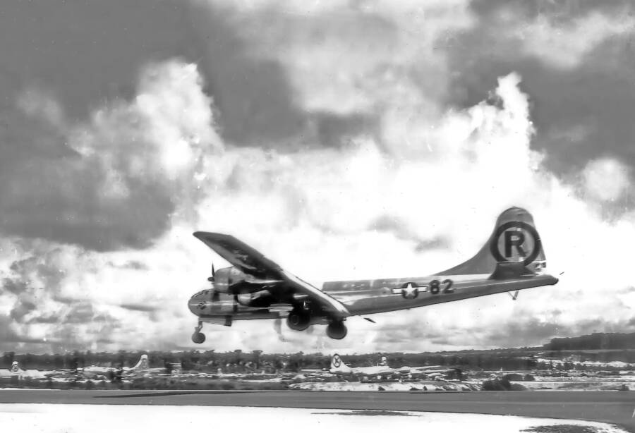 Enola Gay After Dropping Little Boy