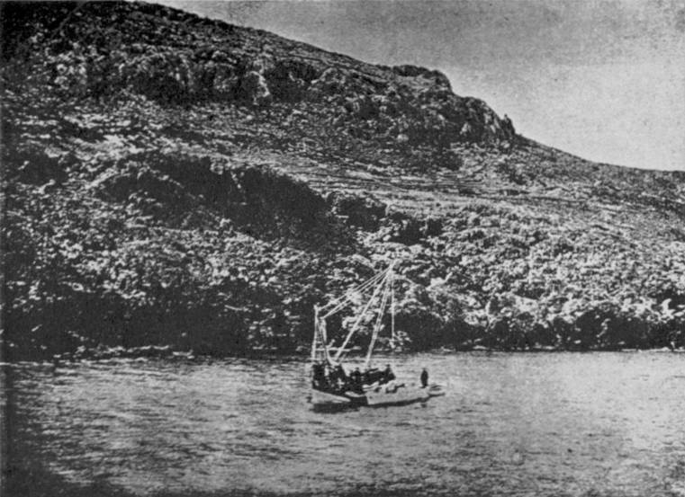 Shipwreck Containing Antikythera Mechanism