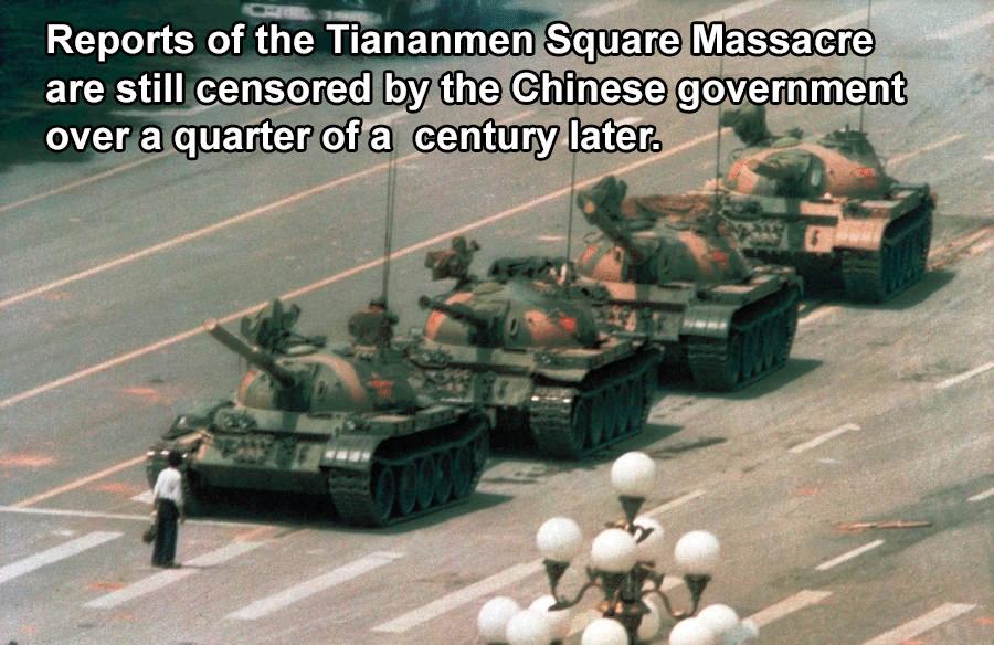 Tiananmen Square Famous Photo