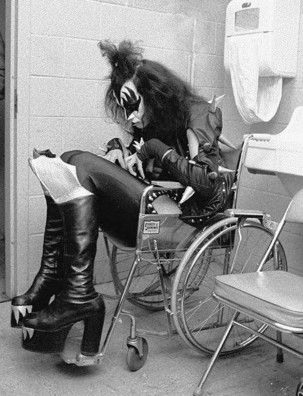 Gene Simmons Backstage