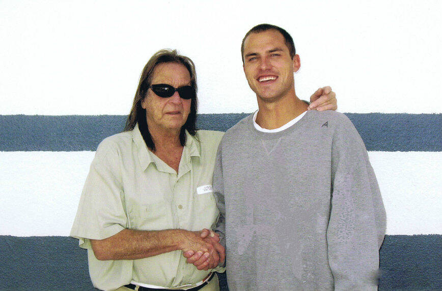 George Jung Posing For Prison Photo In 2010