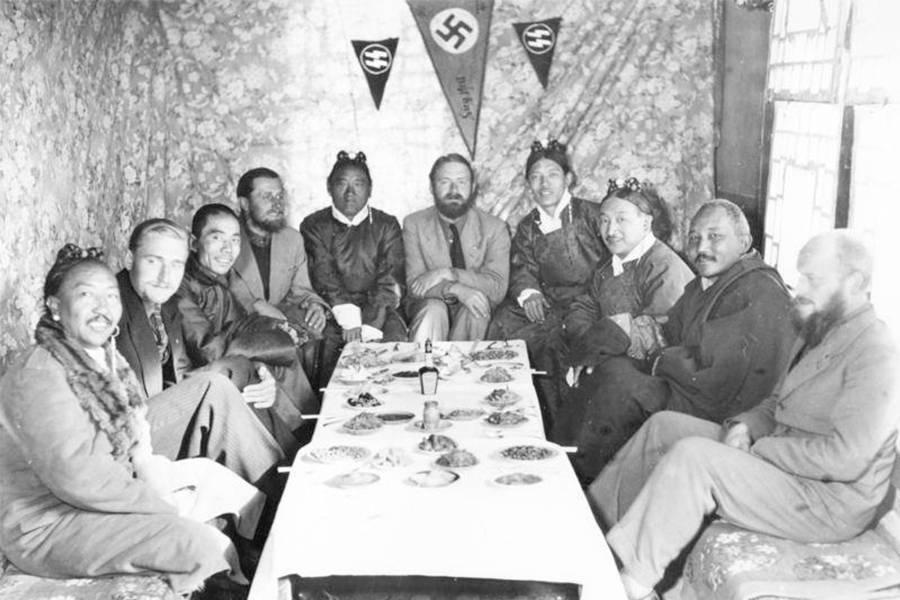 Ahnenerbe Germans In Lahsa