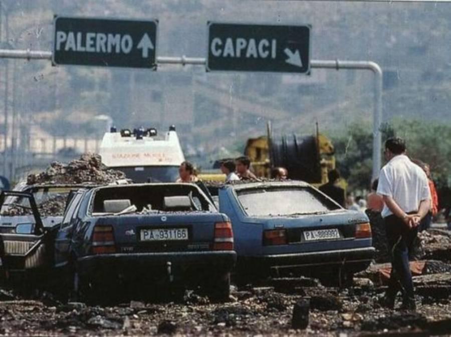 Giovanni Falcone Murder Scene