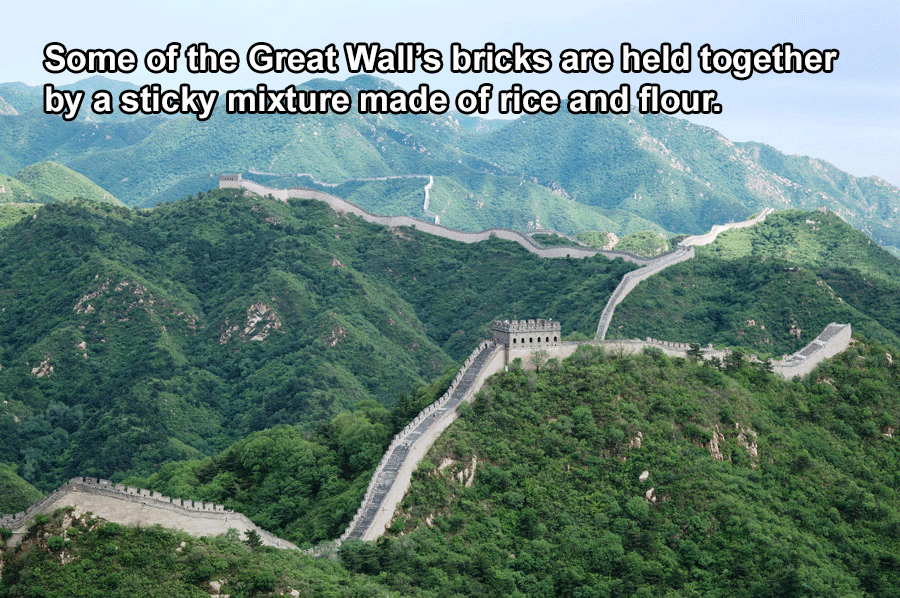 China Facts Great Wall