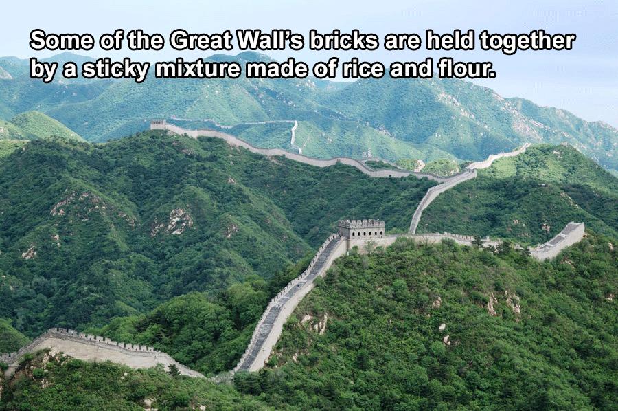 China Facts Great Wall