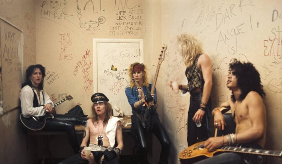 Guns N Roses Backstage