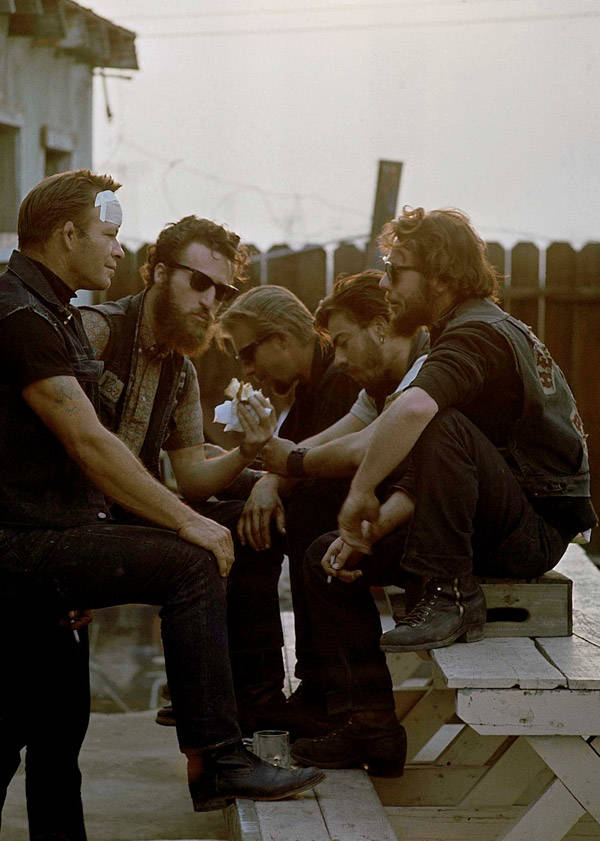 Sonny Barger Hanging Out In 1965