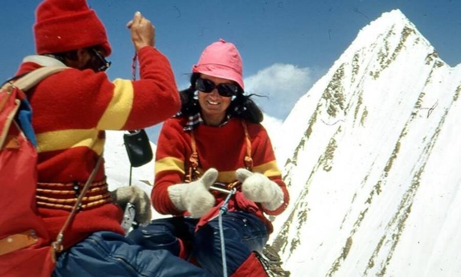 Hannelore Schmatz On Everest