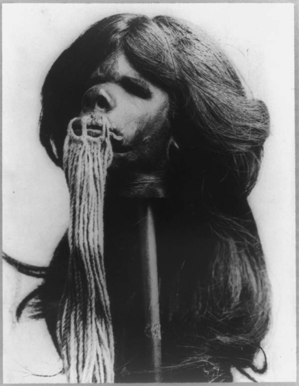 Head With Rope