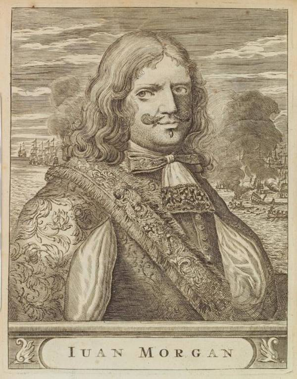 Henry Morgan Famous Pirates