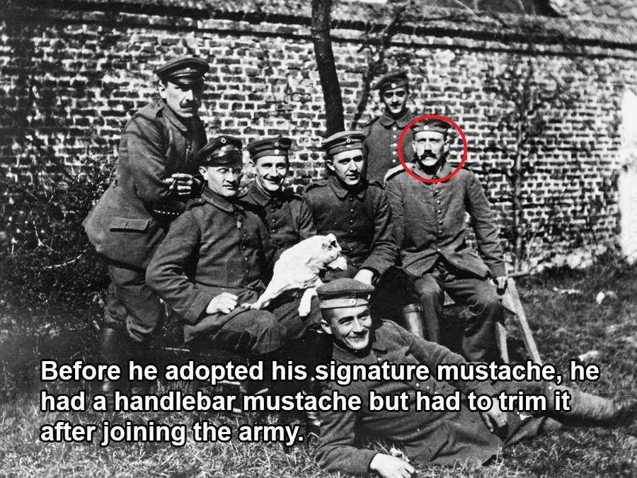 Hitler In The Army