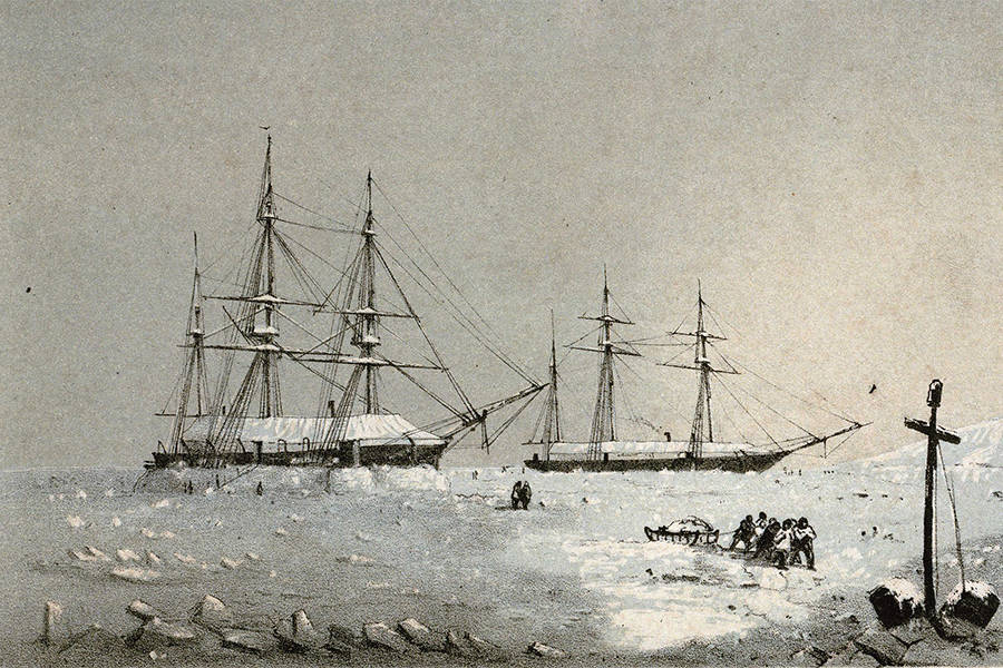 Hms Resolute In Ice