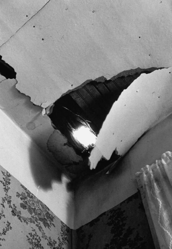 Ann Hodges Roof Hole