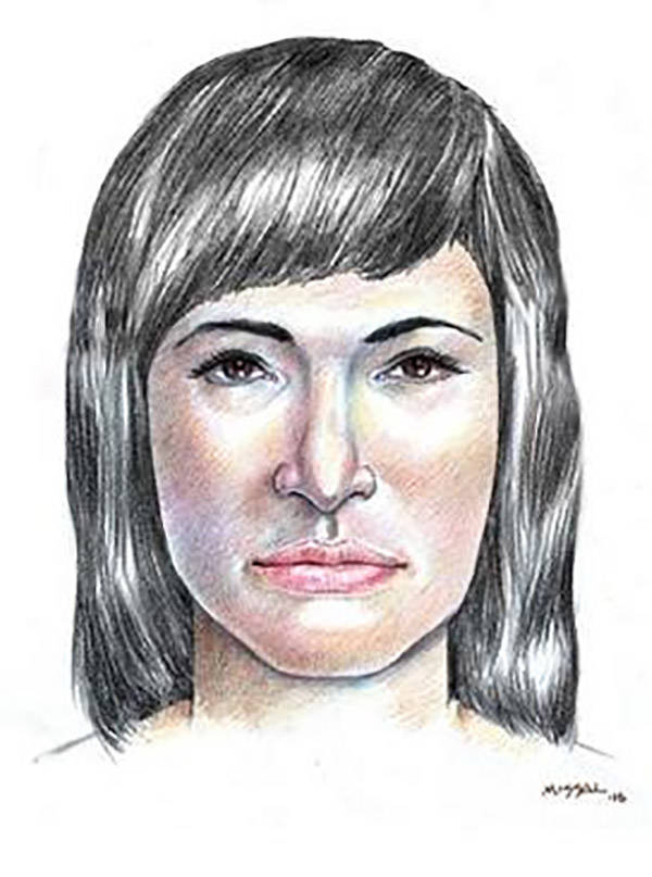 Isdal Woman Sketch