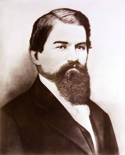 John Pemberton Portrait