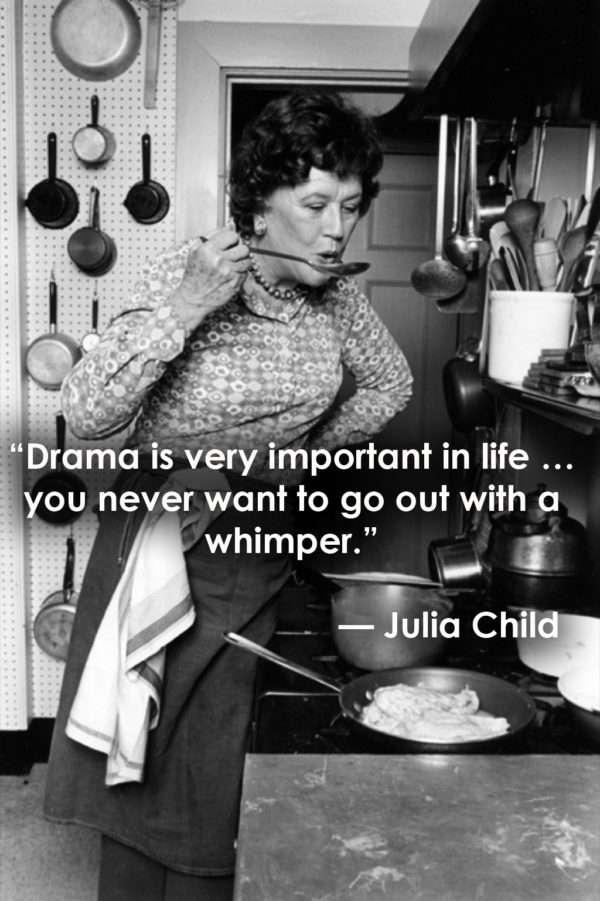 Julia Child Death Quotes