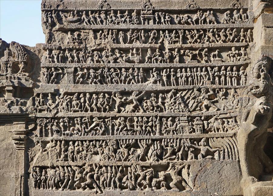 Kailasa Carvings