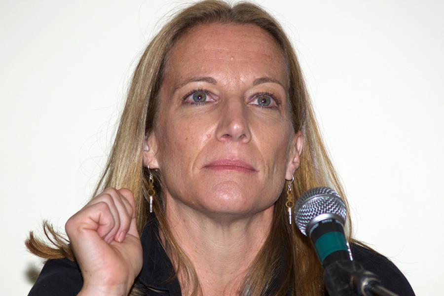 Kathryn Harrison Promoting The Kiss