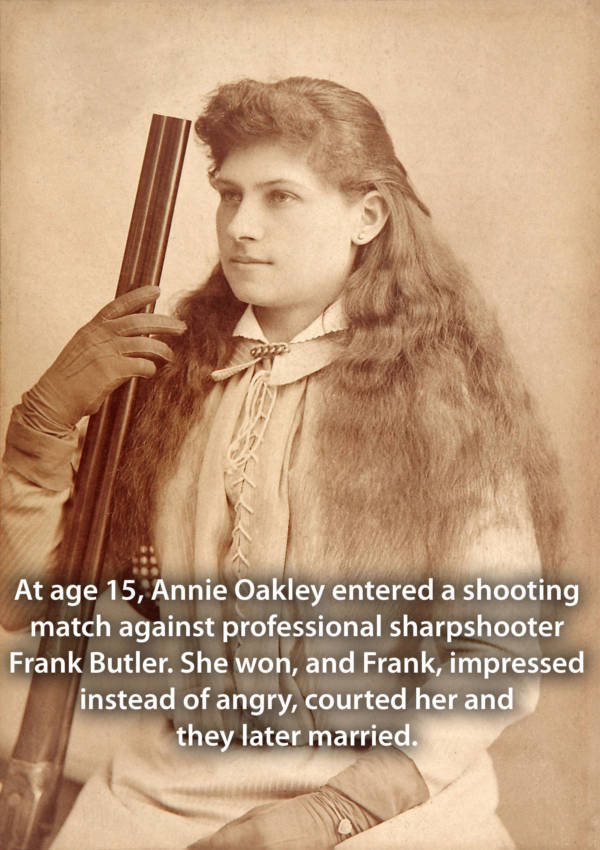 Oakley Holding Gun