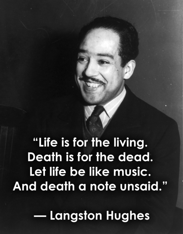 Langston Hughes Smiling