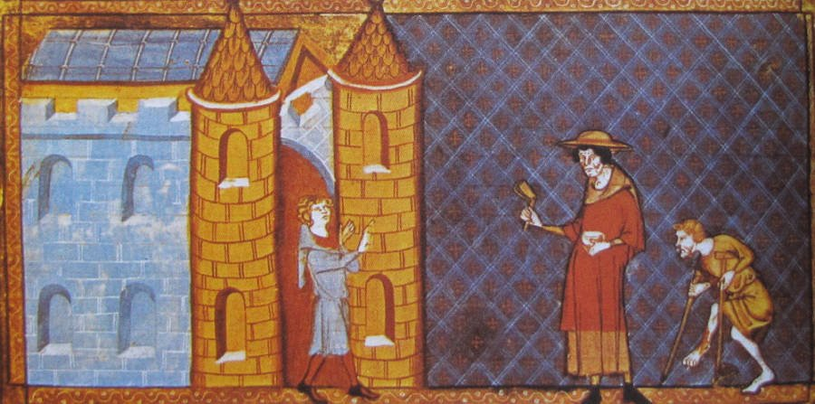 Lepers In The Middle Ages