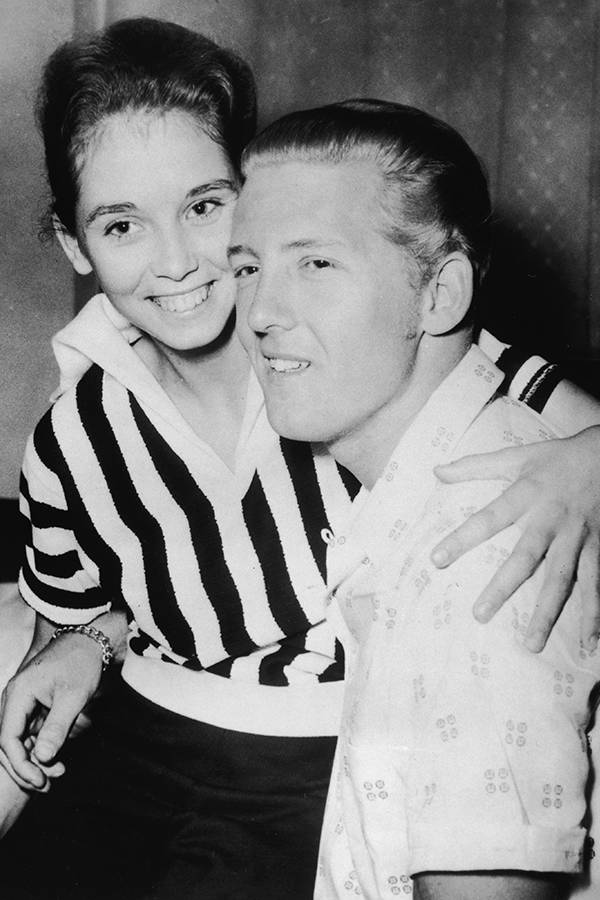 Myra Gale Brown Sitting On Jerry Lee Lewis' Lap
